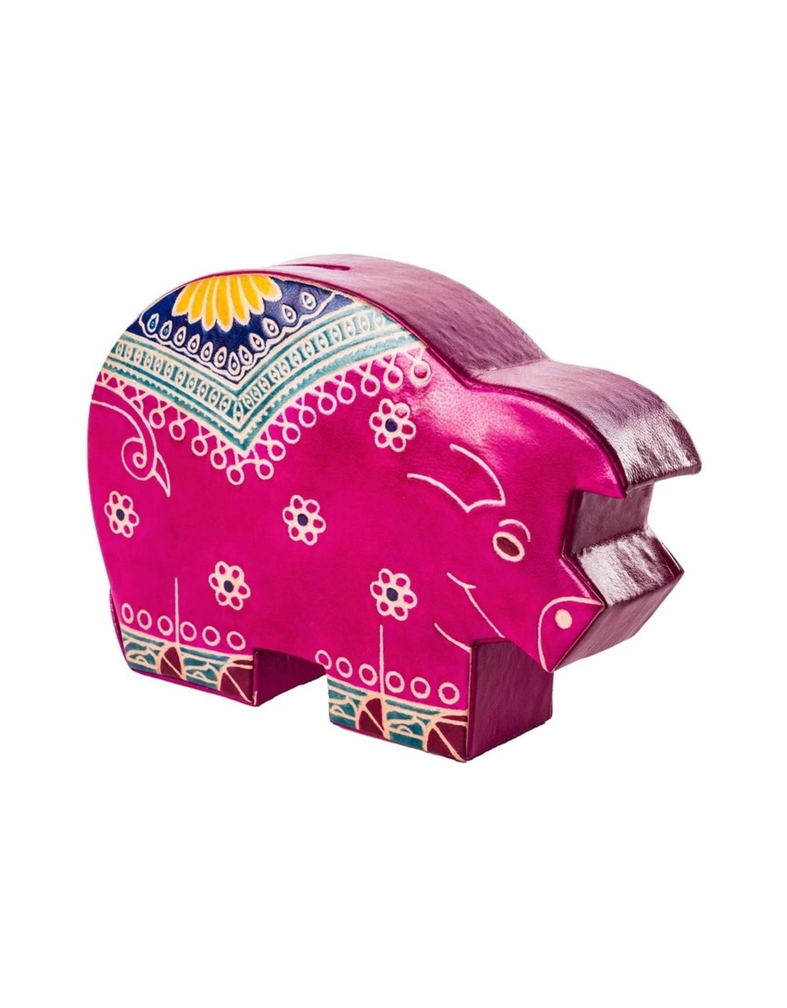 Matr Boomie Leather Piggy Bank, India