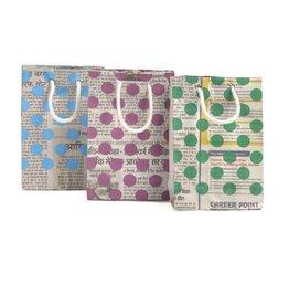 Matr Boomie Polka Dot Gift Bag, Small, India
