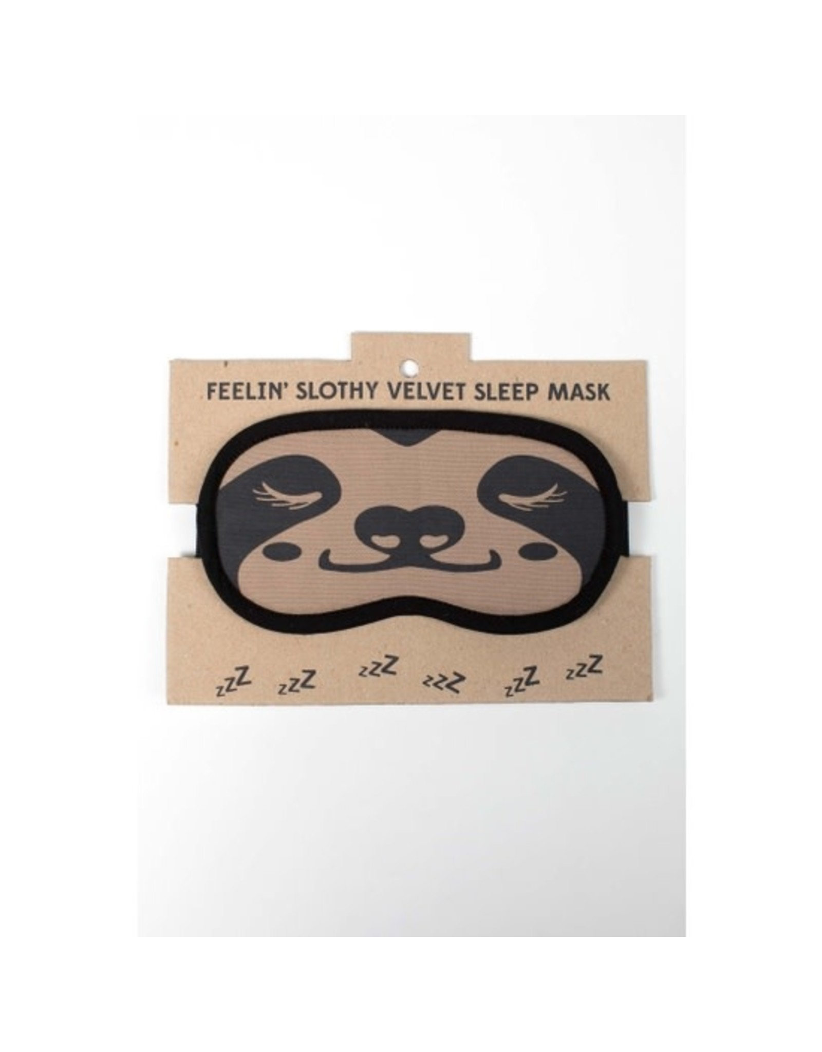 TTV USA Sloth Velvet Sleep Mask, Bangladesh