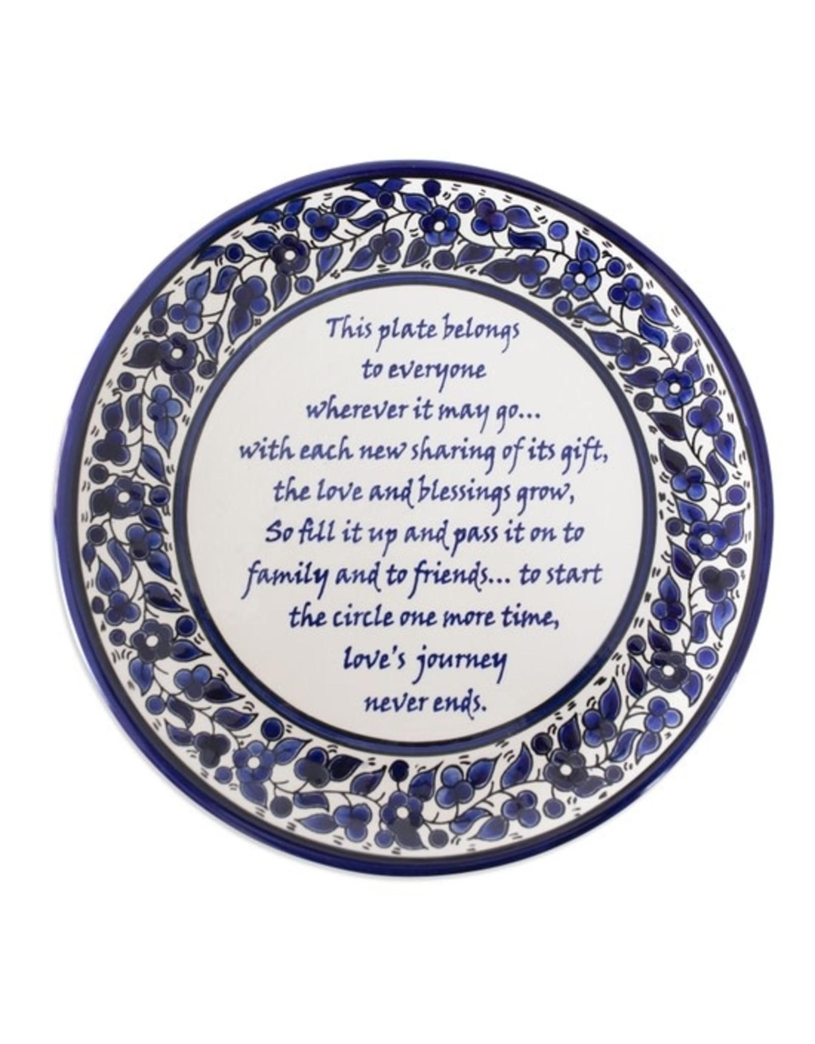 TTV USA Giving Plate, Palestine