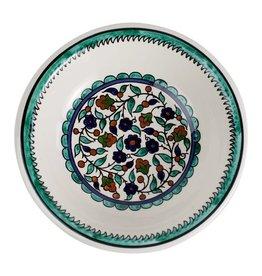 """TTV USA Joyful Garden Bowl, Palestine, 11"""" / 28 cm diameter"""
