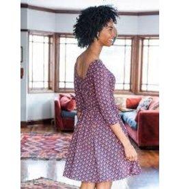 CLEARANCE Novela Dress, Plum