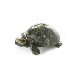 Swahili Wholesale Leopard Stone Turtle Sculpture, Zimbabwe