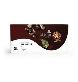 Oxfam Oxfam Belgian Chocolate Seashells (275g)