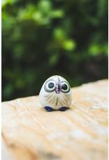 Lucia's Imports Ceramic Baby Owl, Guatemala.