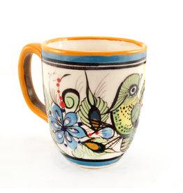 Lucia's Imports Wild Bird Mug, 8oz/240ml, Guatemala