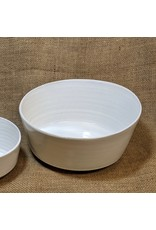 Ten Thousand Villages Soft Cloud Ceramic Bowl (Large). Nepal