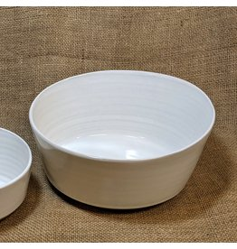 Ten Thousand Villages Soft Cloud Ceramic Bowl (Large). Nepal