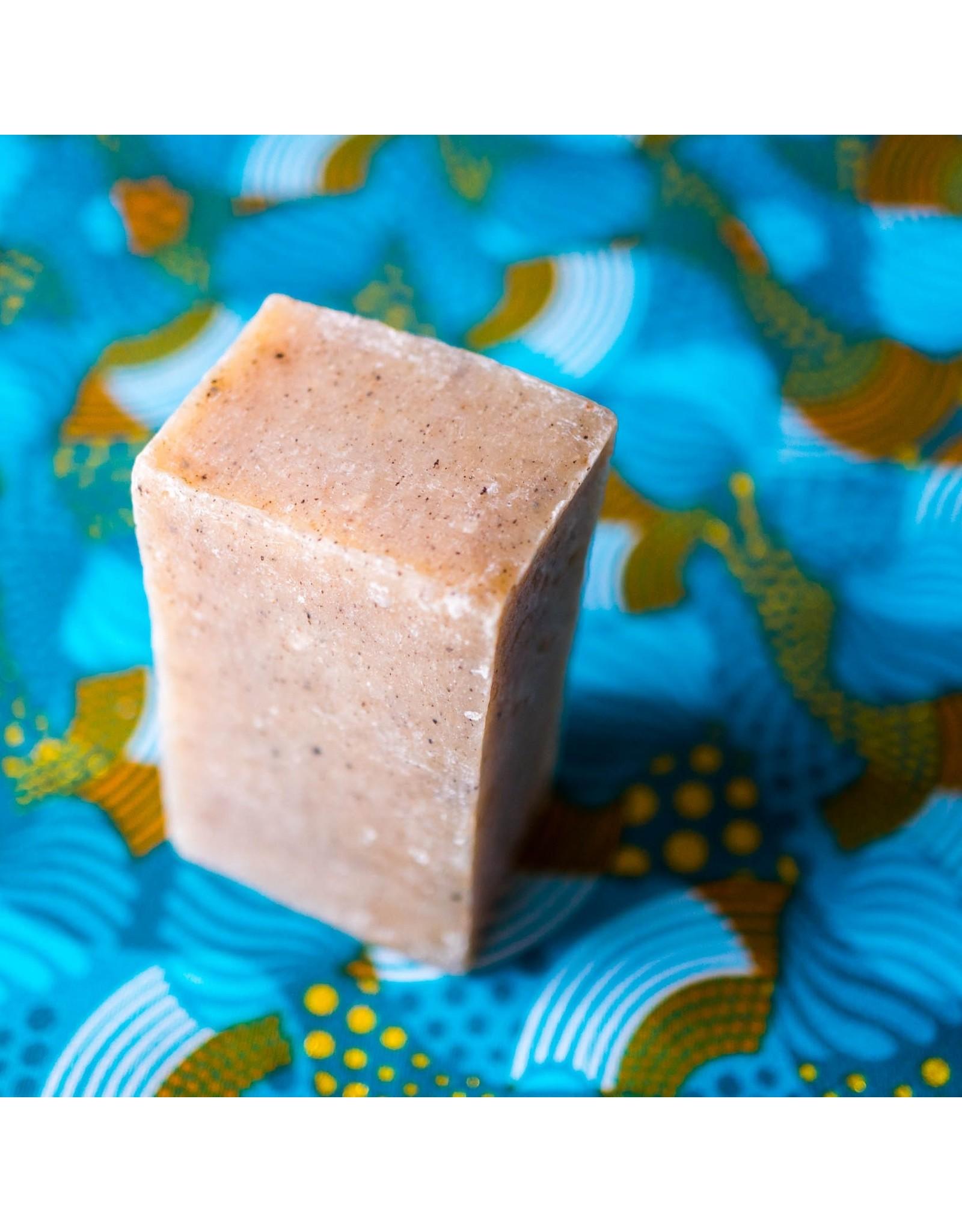 Zambeezi Spearmint Beeswax Soap, 100g. Zambia
