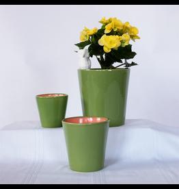 Sobremesa Spring Planter, green or blue, 3 sizes, Tunisia