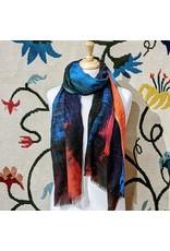 Sevya Leela Printed Wool Shawl