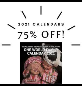 New Internationalist One World Family Calendar 2021