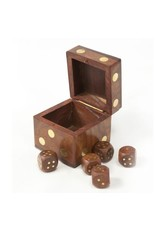 Matr Boomie Rosewood Dice Box, India