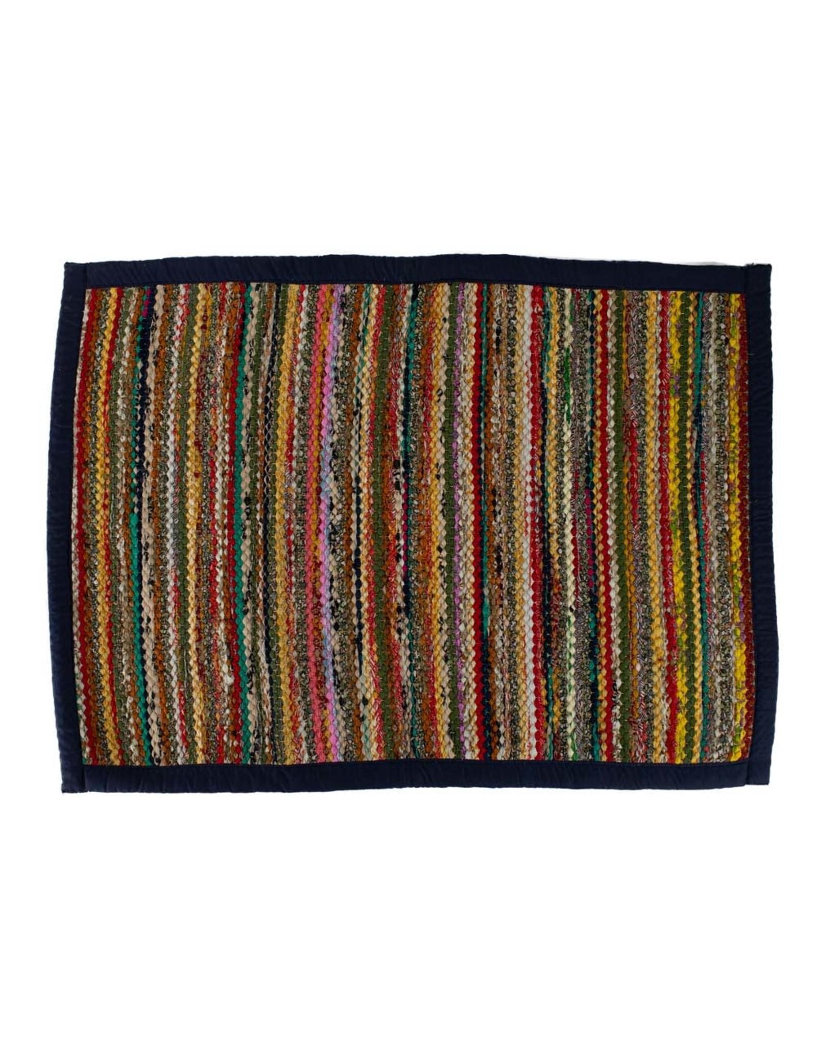 TTV USA Recycled Sari Rug, India