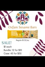 Oxfam Sesame Seed Bar Case (45 x 20g)