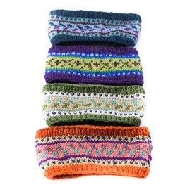 Ganesh Himal Patterned Knit Headband, Assorted, Nepal