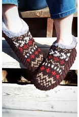 Ganesh Himal Knit slipper with sole, Assorted, Nepal