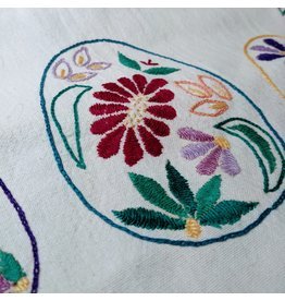 Ten Thousand Villages Easter Egg Napkin - Teal