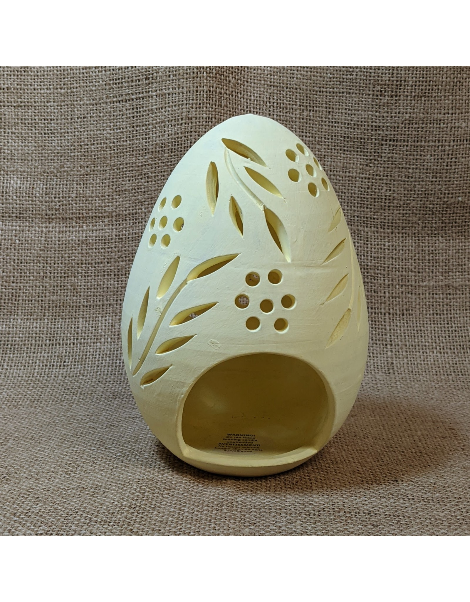 Ten Thousand Villages Easter Egg Tealight Holder