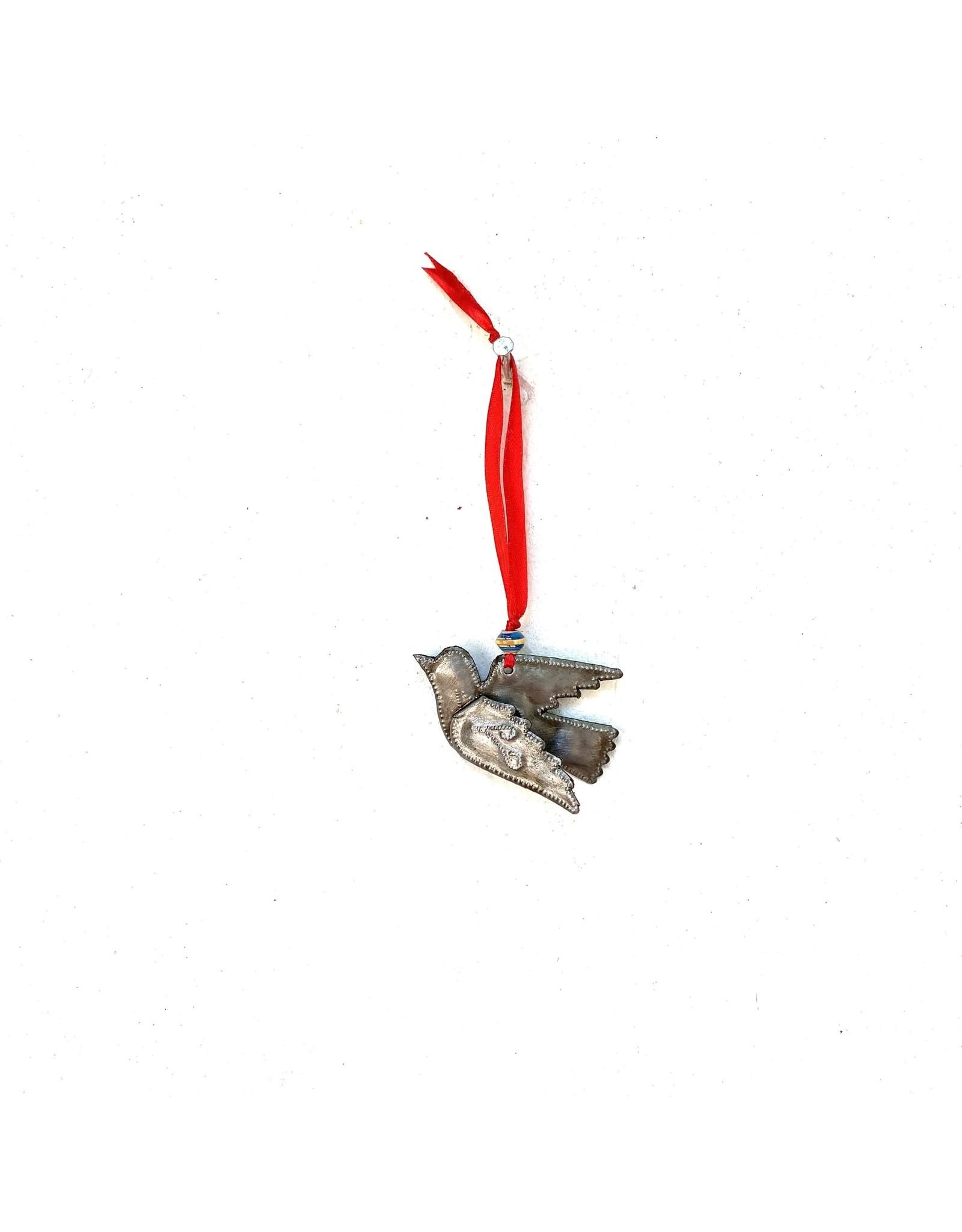 Papillon Cut Metal Bird Ornament, Haiti