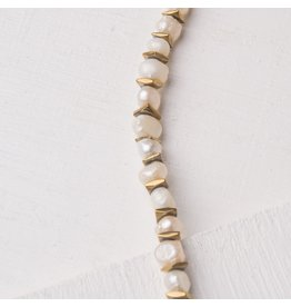 Starfish Project Judith Gold Pearl & Iron Necklace, China