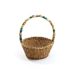 Matr Boomie Sari Handle Harvest Basket. India