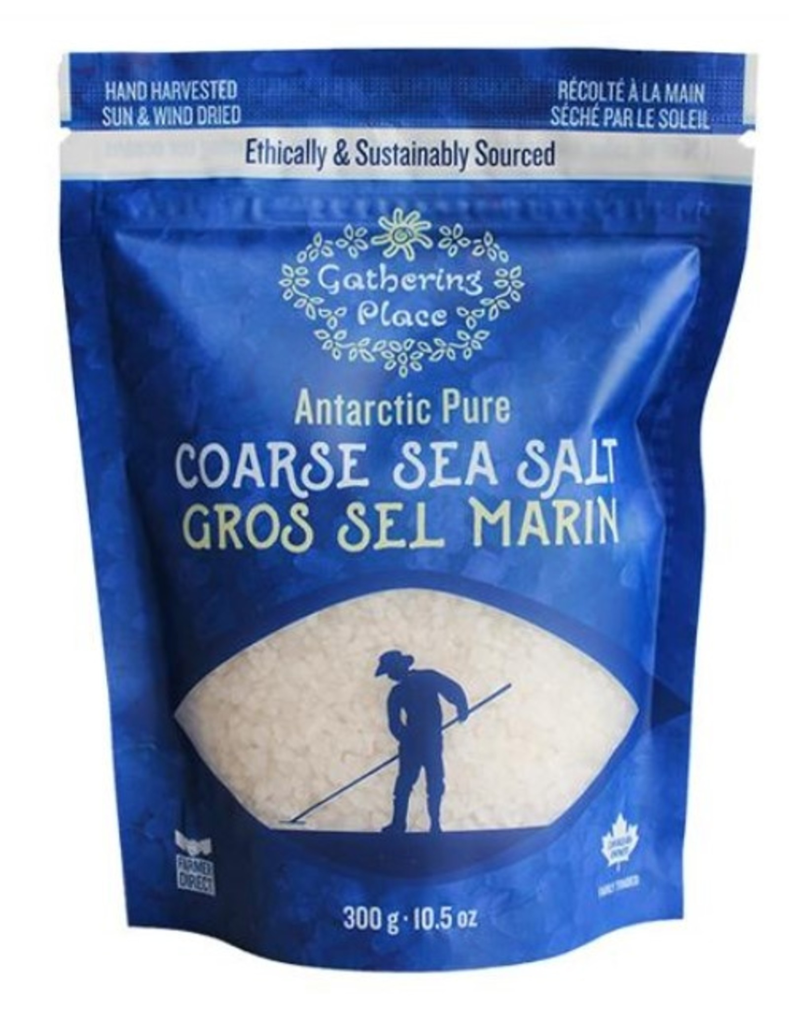 Gathering Place Sea Salt Coarse Pouch 300g
