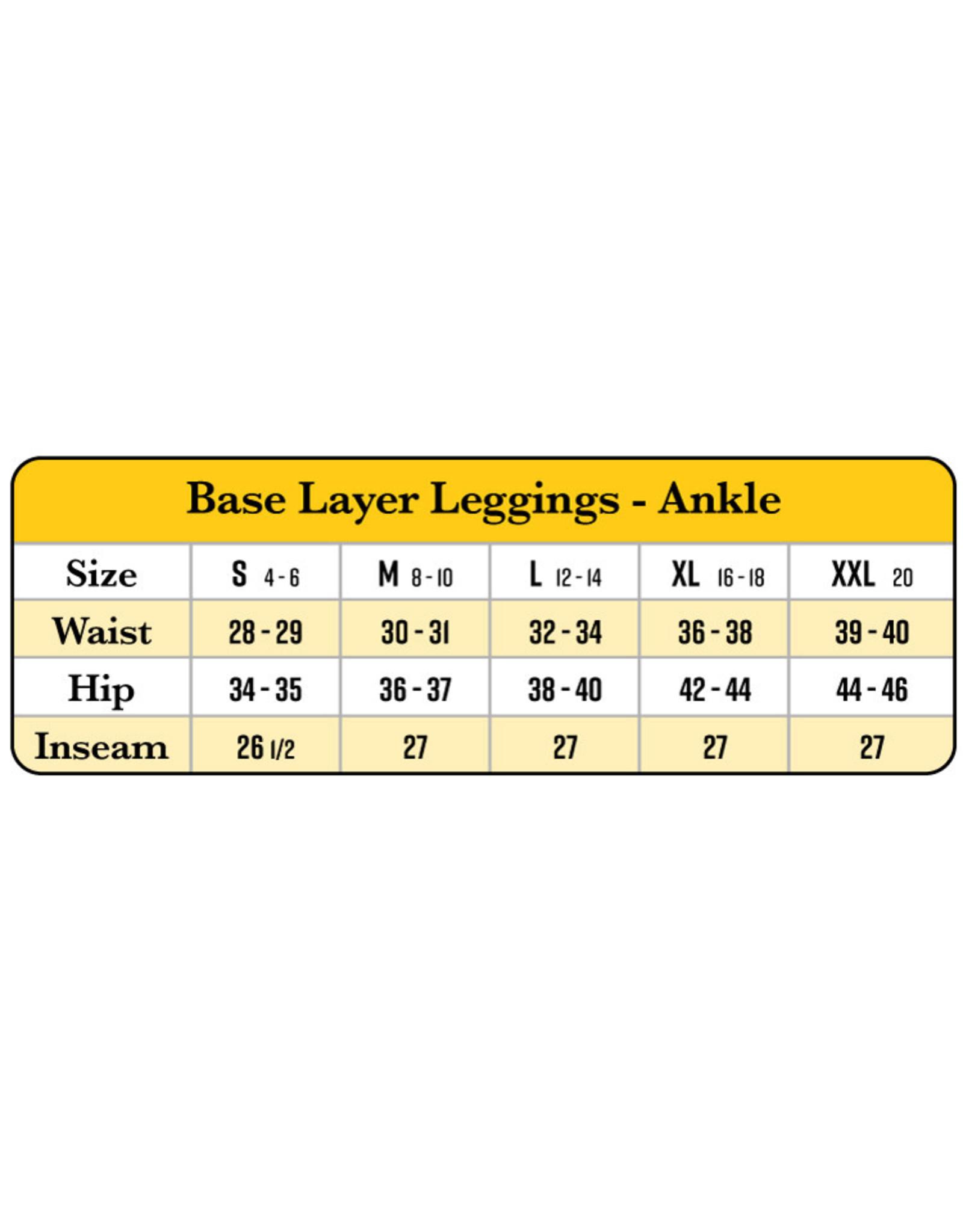 Organic Cotton Ankle Leggings.