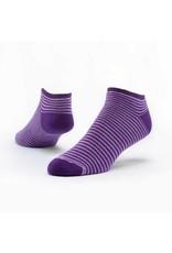 Cotton Footie Socks, Pinstripe