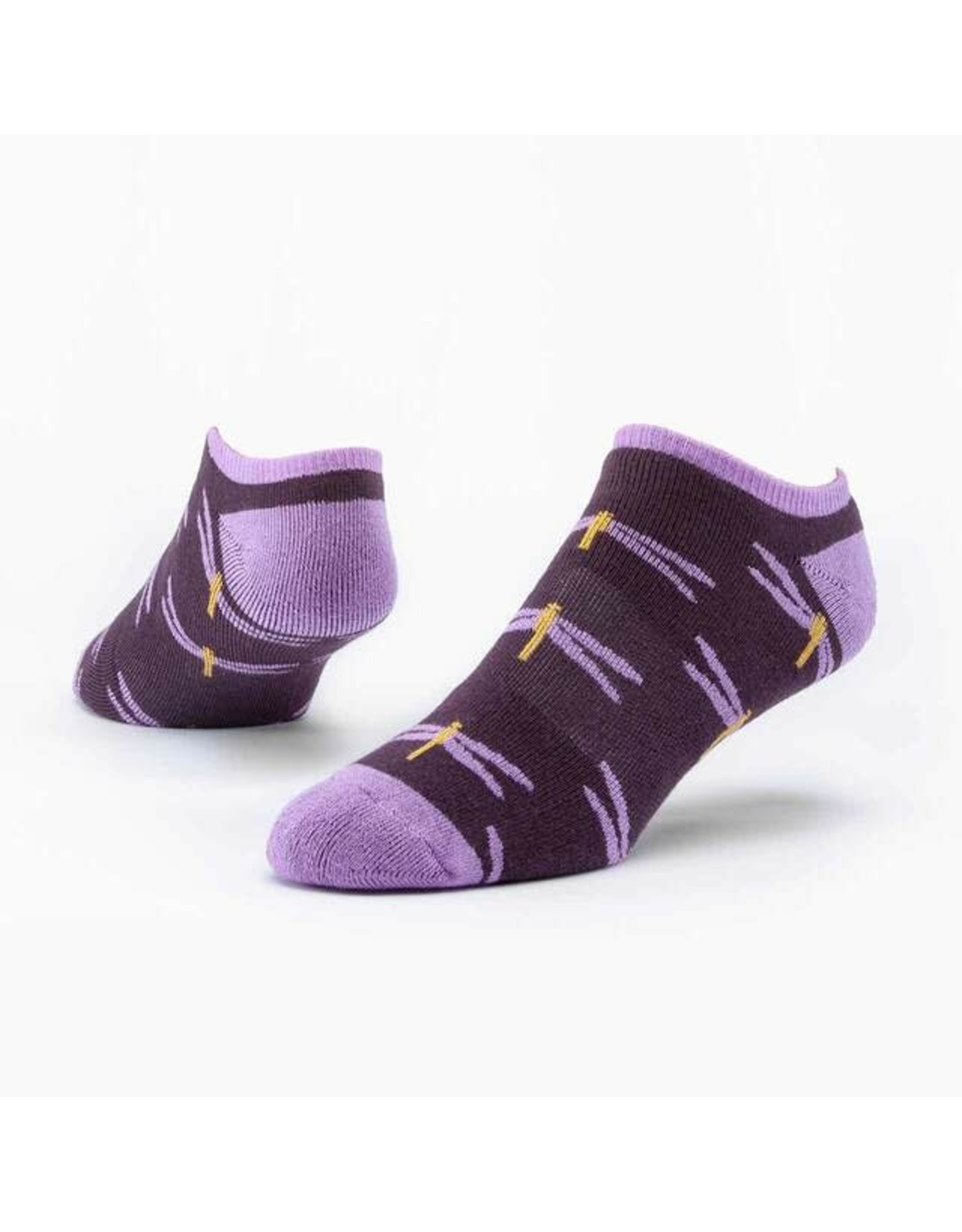 Cotton Footie Socks, Dragonfly