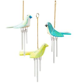 SERRV Birdie Wind Chimes, assorted. Indonesia
