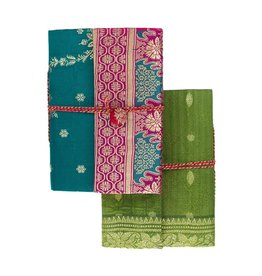 Matr Boomie Nityagata Silk Sari Journal, Assorted. India