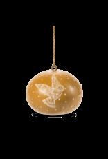 Lucuma Mini Gourd Dove Ornament,  Assorted, Peru
