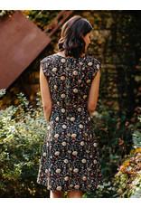 Marseille Dress, Midnight. India