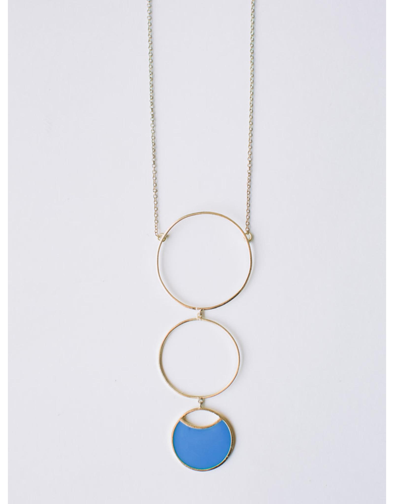 Circle Drop Necklace, India