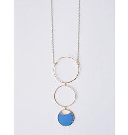 Circle Drop Necklace, India.