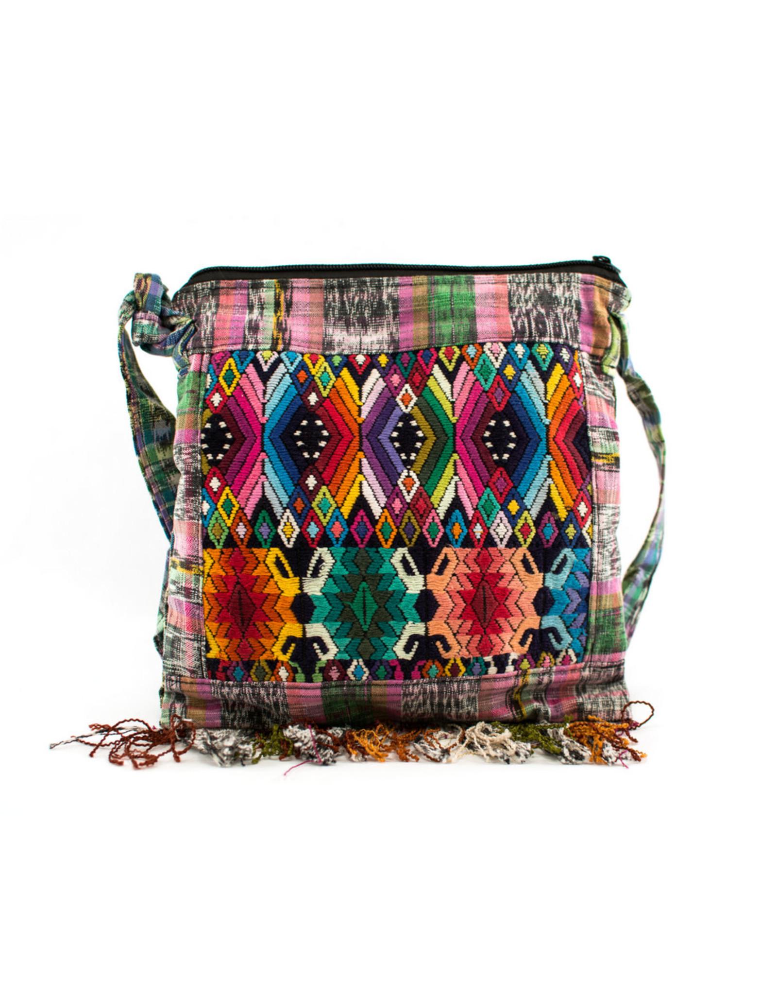 Lucia's Imports Mini Fringe Purse, assorted, Guatemala