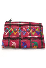 Lucia's Imports Upcycled Coin Purse, assorted, Guatemala