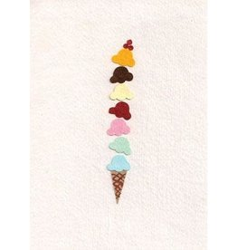 Good Paper Yummy Ice Cream Card, Rwanda