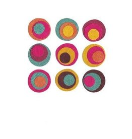 Good Paper Conjoined Circles Card, Rwanda