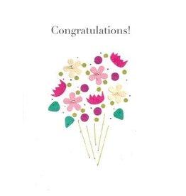 Good Paper Celebration Bouquet Card, Rwanda