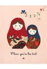 Good Paper Batik Nesting Dolls Card, Phillippines