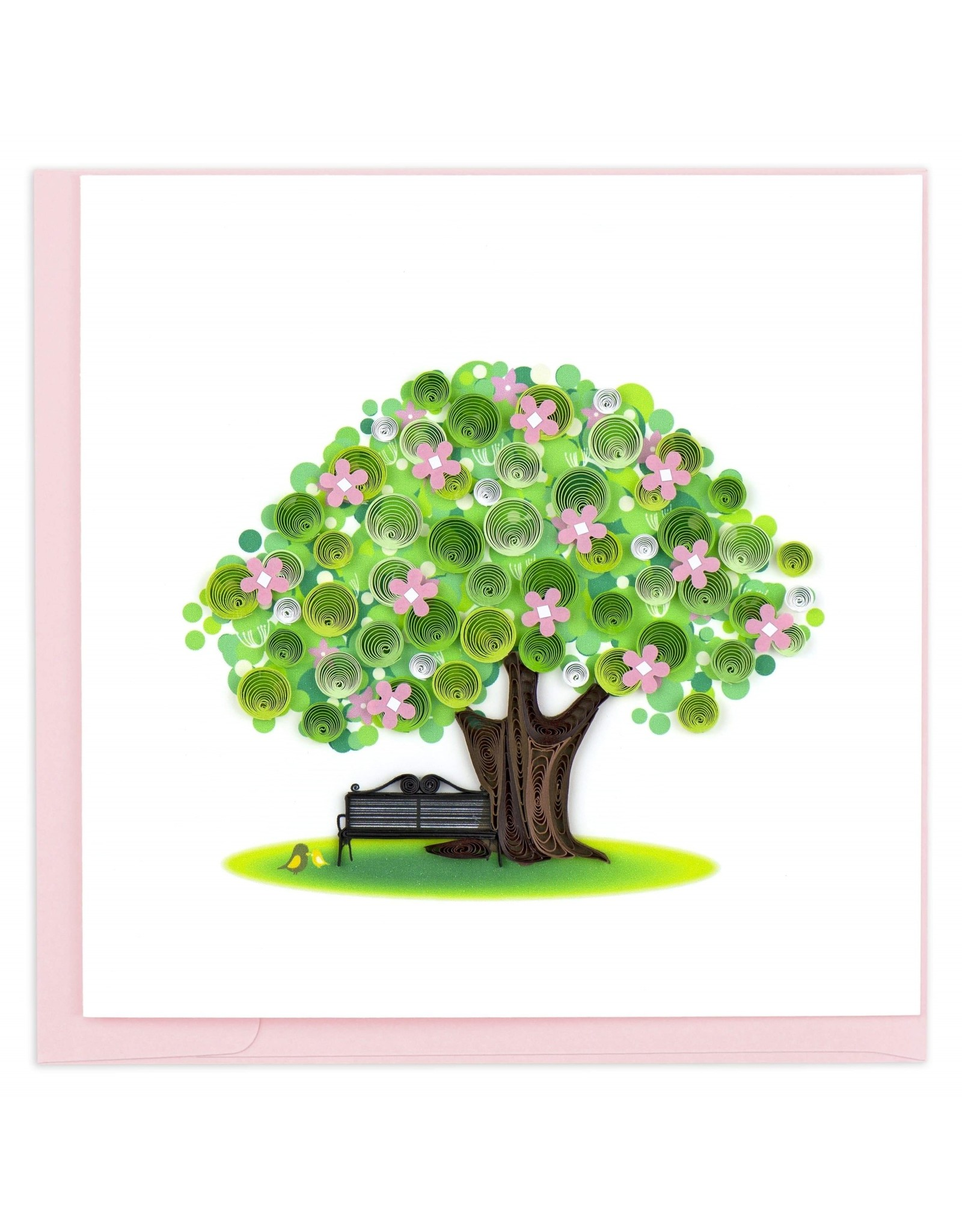 quillingcard Quilled Spring Tree Card, Vietnam