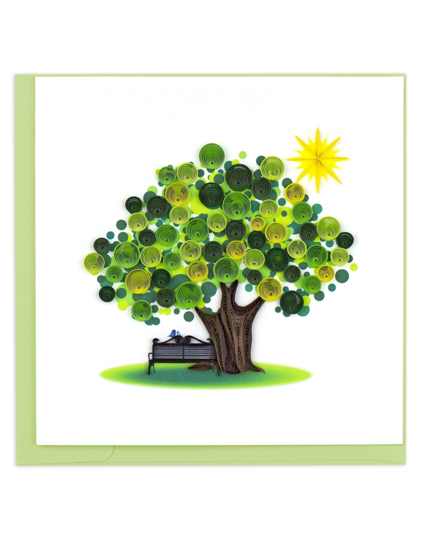 quillingcard Quilled Summer Tree Card, Vietnam