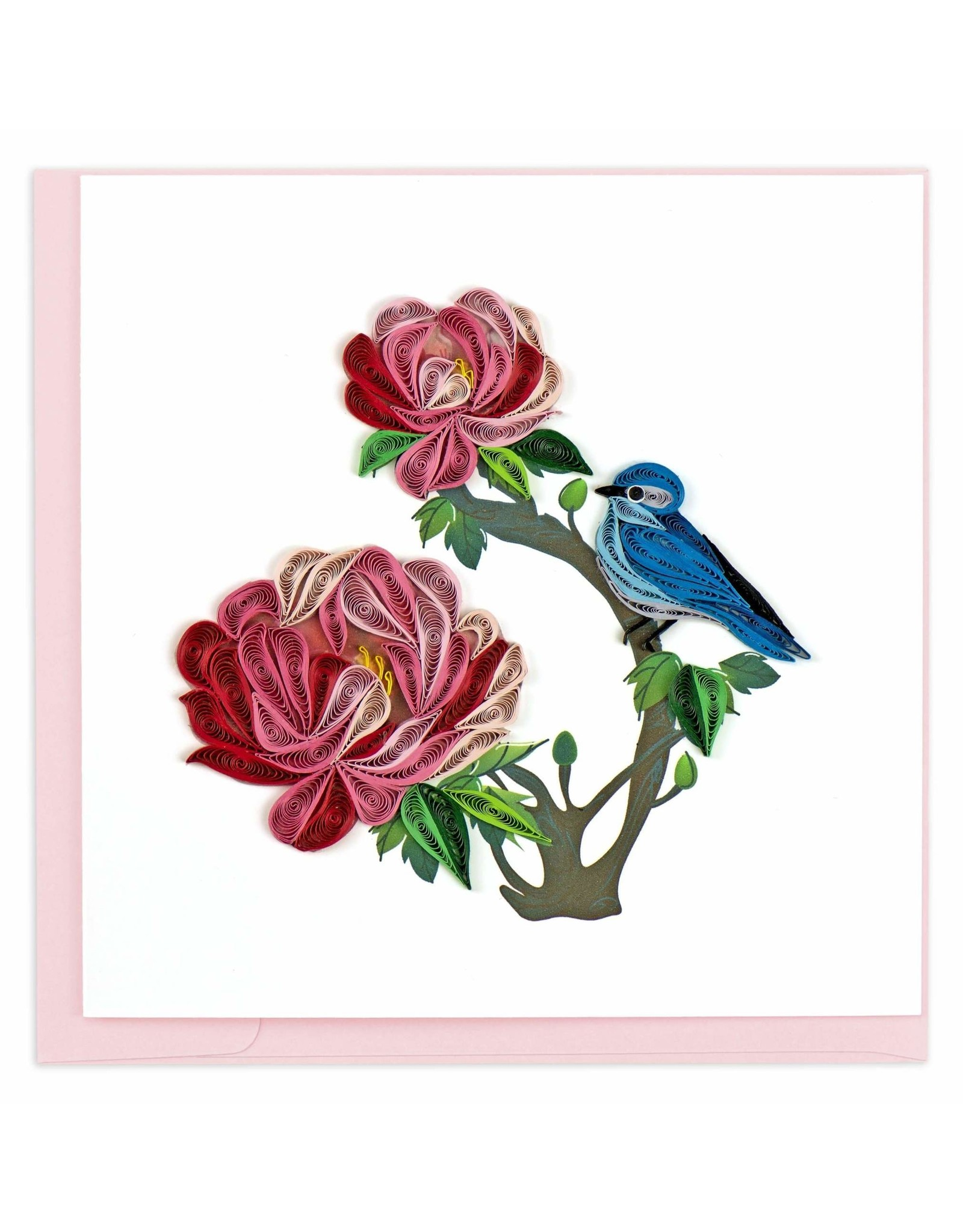 quillingcard Quilled Peony Card, Vietnam