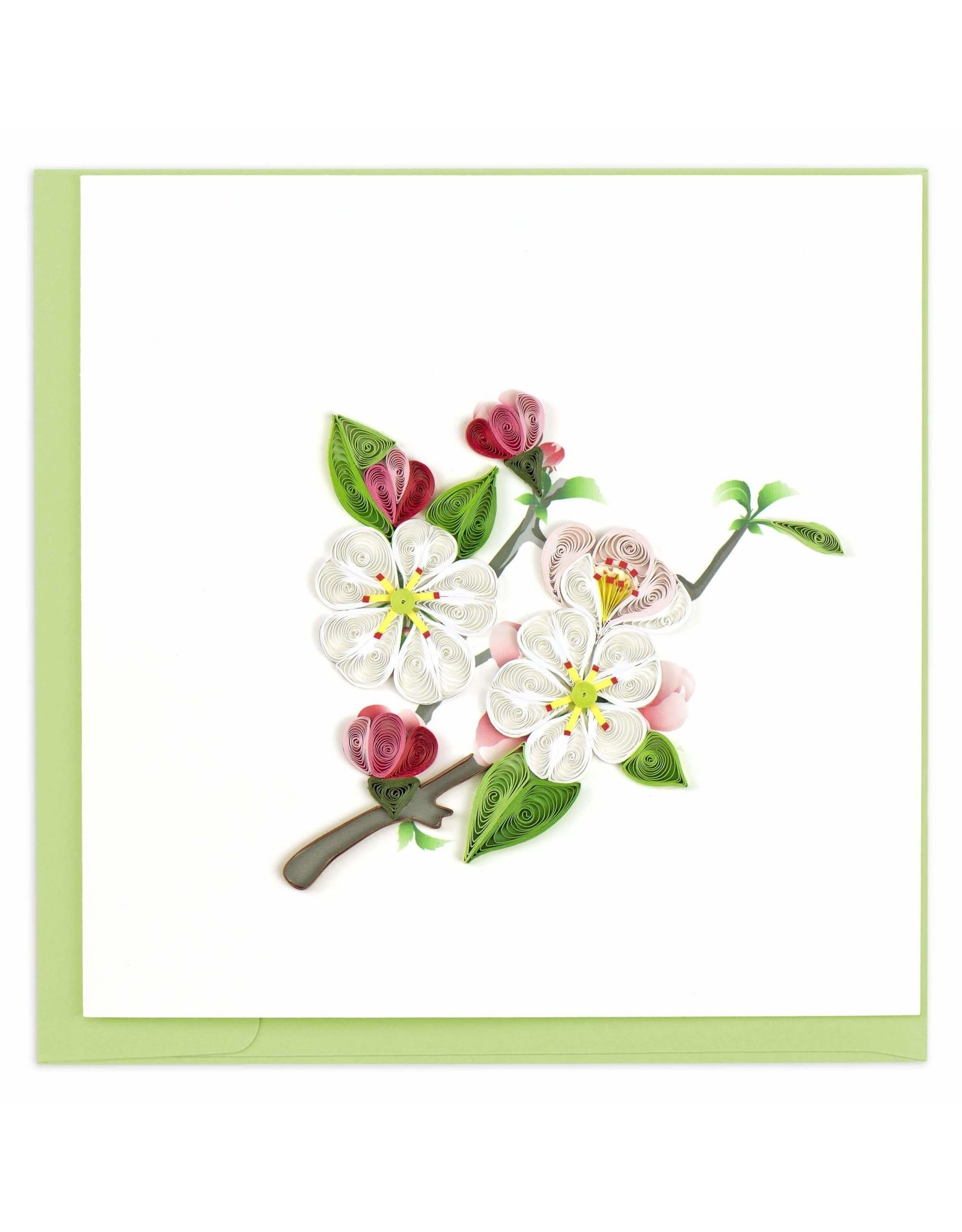 quillingcard Quilled Apple Blossom Card, Vietnam