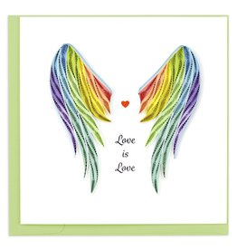 quillingcard Quilled Pride Wings Card, Vietnam