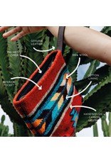 MZ Scarlet Arrow Wristlet Clutch, Mexico