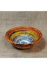 Paper Feathers Small Newspaper Bowl, assorted. Sri Lanka
