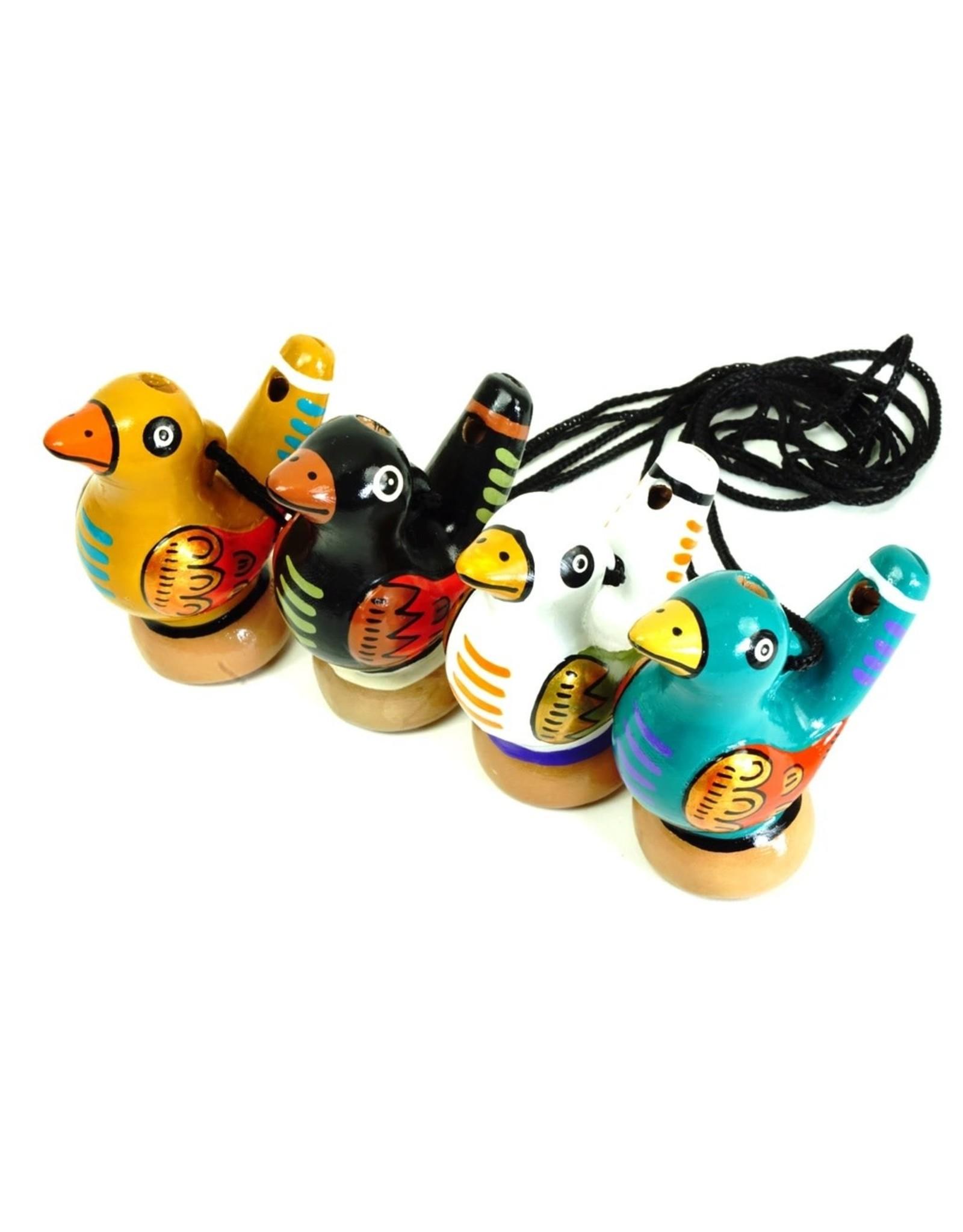 Jamtown Bird Water Whistle, Assorted, Peru